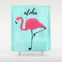 Aloha / Flamingo Shower Curtain