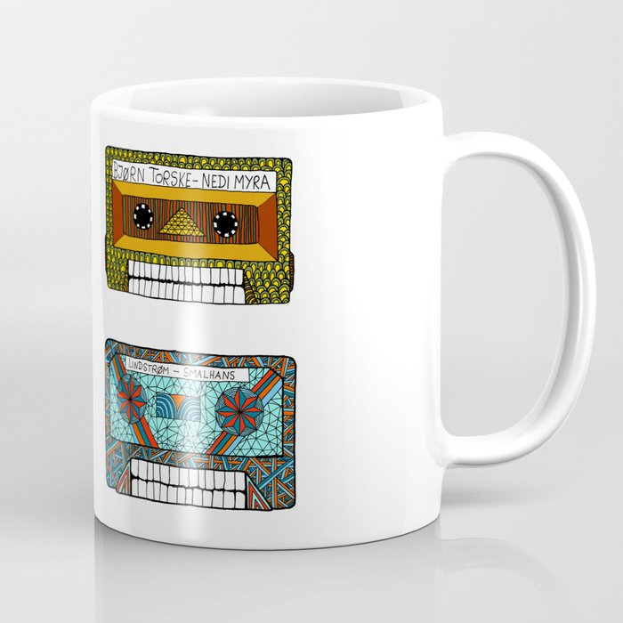 Electronic Music Tapeskulls Coffee Mug
