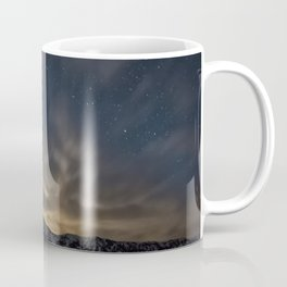Meteor Over The Bridgers Coffee Mug