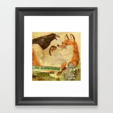 sustainable Framed Art Print