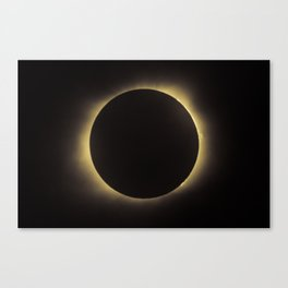 Total Eclipse 2017 Canvas Print