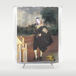 Portrait of the Artist as a Young Man Shower Curtain