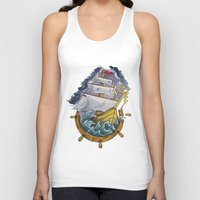 sailor Tank Tops featuring Sailor by Jeef