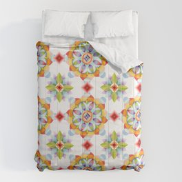 Beaux Arts Mandala Comforters