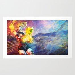 Vagenda Commission #2 (Monori Rogue) Art Print