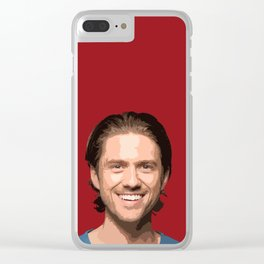 Aaron Tveit 8 Clear iPhone Case