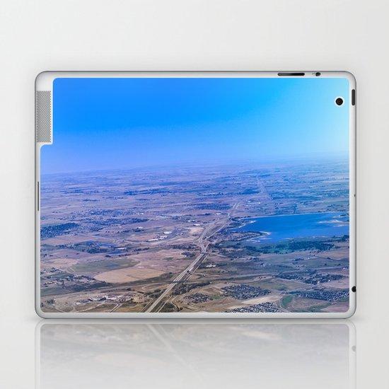 Superman's perspective Laptop & iPad Skin