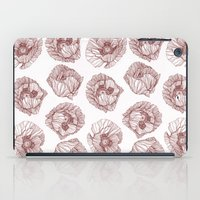 poppies iPad Cases featuring Poppies by Annike