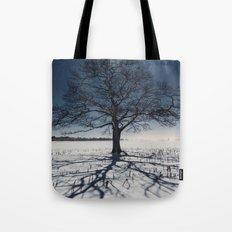Winter Shadows Tote Bag