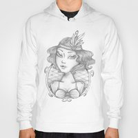 burlesque Hoodies featuring Burlesque by Calinca Alcantara