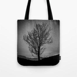 Lost lake solo tree Tote Bag
