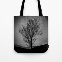 Lost lake solo tree Tote Bag