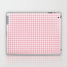 Pink Houndstooth Pattern Laptop & iPad Skin