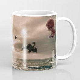 Flying With Friends - Super Smash Brothers Coffee Mug
