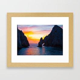 Land's End  Framed Art Print