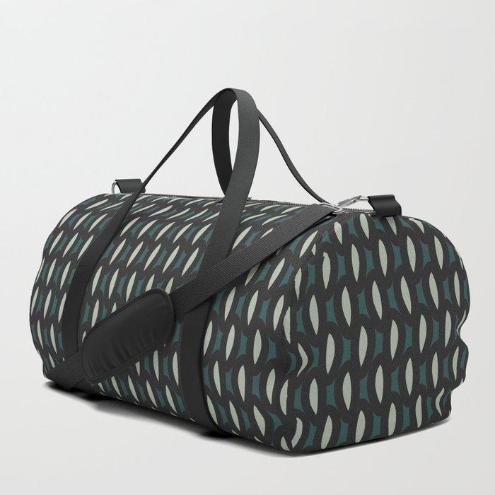 geo six-teal Duffle Bag