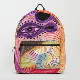 watch my lips mask Backpack
