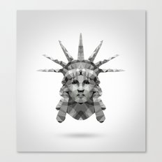 Polygon Heroes - Liberty Canvas Print