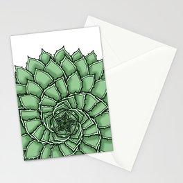 Aloe Polyphylla Stationery Cards