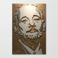 murray Canvas Prints featuring Murray by Blake Byers