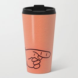 Direction Peach Travel Mug