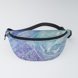 Water Scarab Fossil Under the Ocean, Environmental Fanny Pack