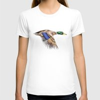duck T-shirts featuring Duck by AkuMimpi