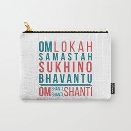 Lokah Samastah Mantra Yoga Carry-All Pouch