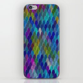 Diamonds of Color iPhone Skin