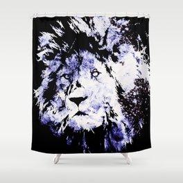 Frozen lion Shower Curtain