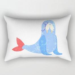Seal with attitude Rectangular Pillow