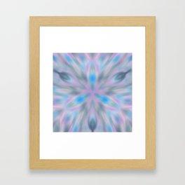 Sacred Calm Digital kaleidoscope Art Framed Art Print