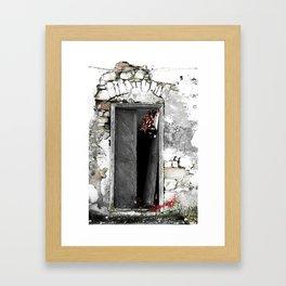 CRETAN DOOR no3-c Framed Art Print
