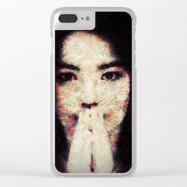 Bjork Clear iPhone Case