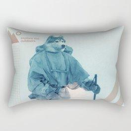 Husky Exploration Rectangular Pillow