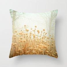The Magic of Fog Throw Pillow