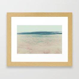 seewolken 2 Framed Art Print