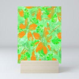 Tropical Floral Poynesian Mini Art Print