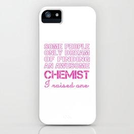 CHEMIST'S MOM iPhone Case