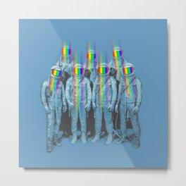 Rainbow connection Metal Print