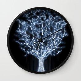 tree of lightings Wall Clock