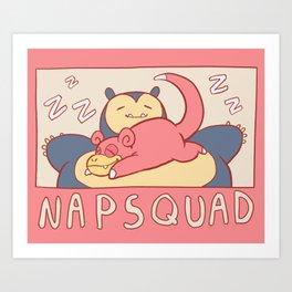 napsquad Art Print