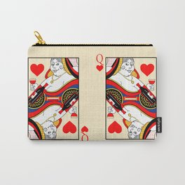 The Queen of Hearts Carry-All Pouch