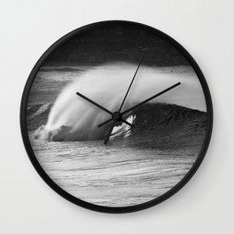 Perfect wave. Wall Clock