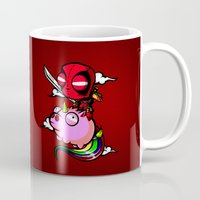taco Mugs featuring taco by tshirtsz