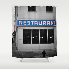 Toms Diner NYC Shower Curtain