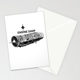 ENGINE SHOP - F16 Stationery Cards
