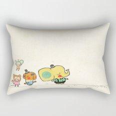 Walking with you Rectangular Pillow