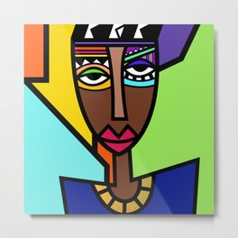 African Beauties  Metal Print
