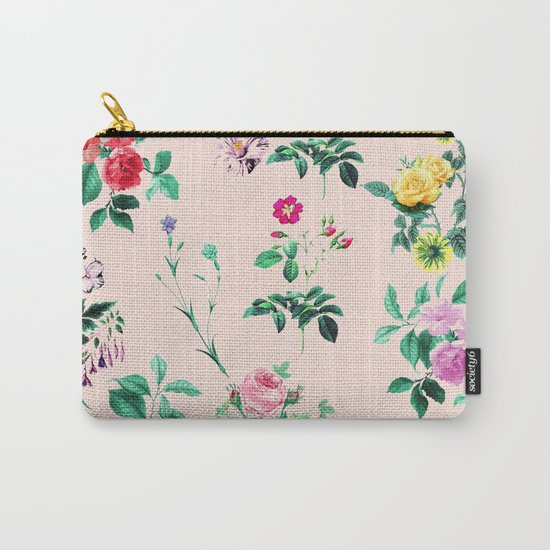 Florals #society6 #decor #lifestyle #tech Carry-All Pouch